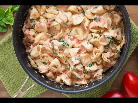 Whats for dinner? Creamy Shrimp Tortellini