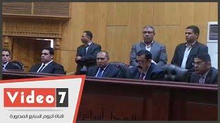 بالفيديو..السجن 10 سنوات للمتهم بحرق مقر حزب غد الثورة والمصروفات