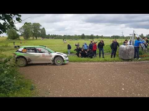 WRC 74 Rally Poland 2017 SS13 Gołdap Pontus Tidemand SKODA FABIA R5