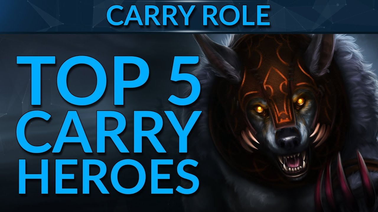 Top 5 Best Carry Heroes In Patch 7 19 Dota 2 Guide Youtube