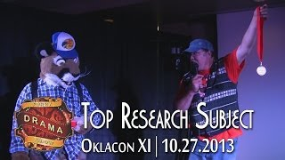 Oklacon FDS: Top Research Subject