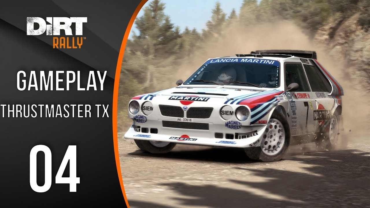 dirt rally lancia delta s4 martini gameplay fr ps4. Black Bedroom Furniture Sets. Home Design Ideas