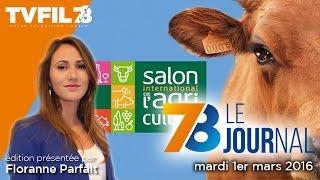 7/8 Le journal – Edition du mardi 1er mars 2016