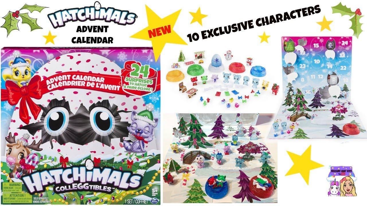 Calendrier De L Avent Hatchimals.Hatchimals Colleggtibles Advent Calendar 24 Surprises Exclusive Characters