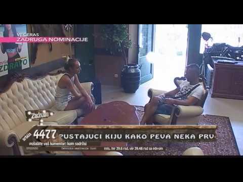 Zadruga - Luna i Milan o Slobi i Kiji - 26.05.2018.