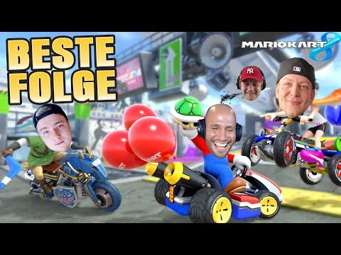 DIE BESTE FOLGE EVER😂 Mario Kart 8 mit DER CREW   Flying Uwe Gaming