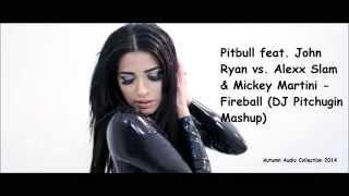 Pitbull feat John Ryan vs Alexx Slam & Mickey Martin   Fireball