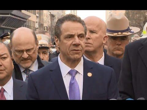 NYC TERRORIST ATTACK; Mayor Bill De Blasio labels subway bomb as an attempted terror attack