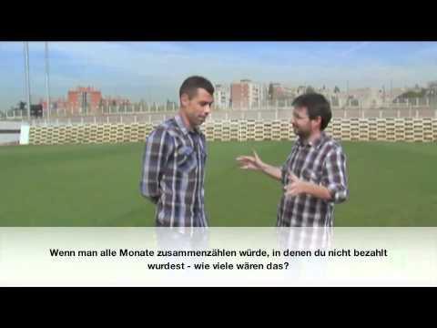 Die Schuldenkrise im spanischen Fußball (mit dt. Untertiteln)