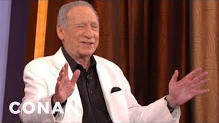 "Mel Brooks Details The Secrets Of ""Blazing Saddles"" - CONAN on TBS"