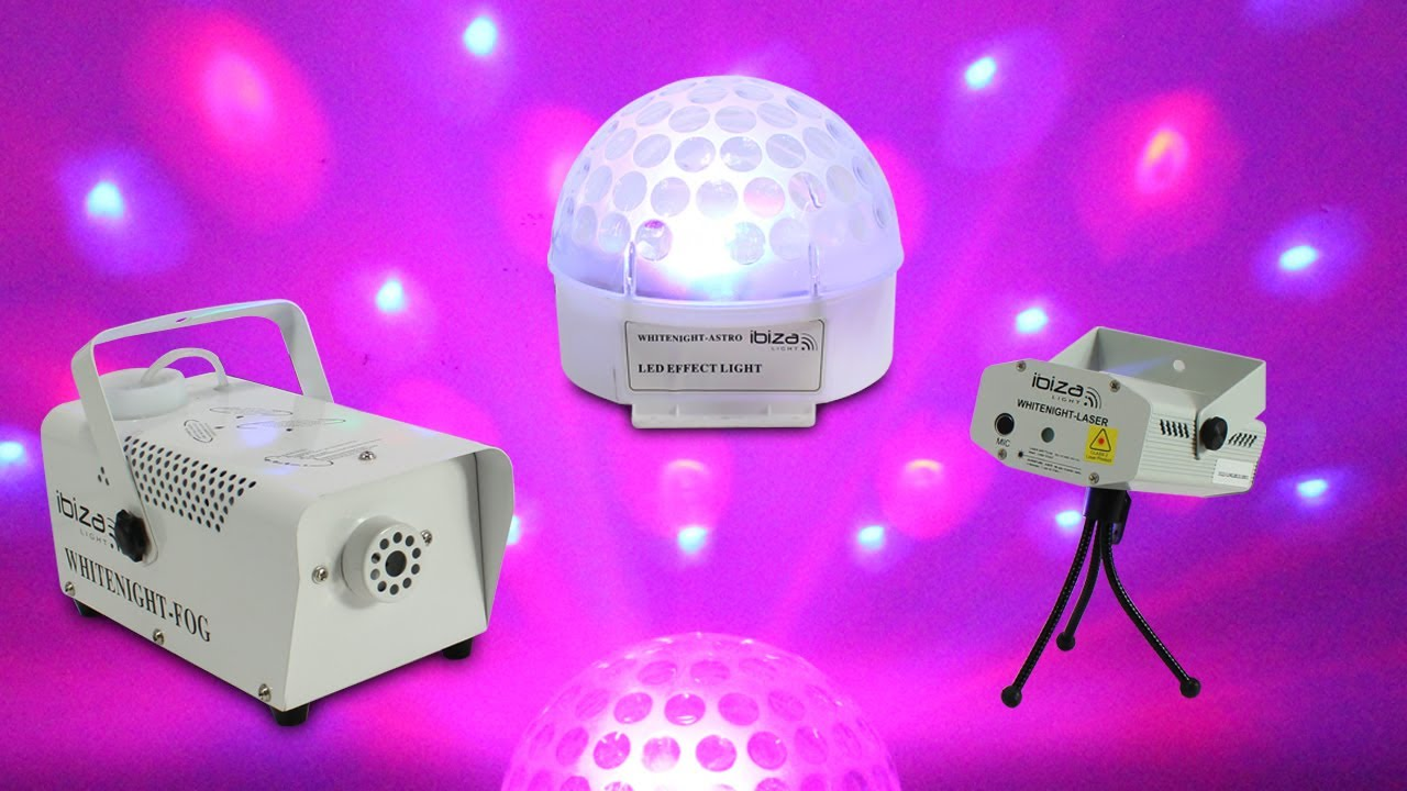 Ibiza Portable Party Dj Led Light Club Laser Disco Ball