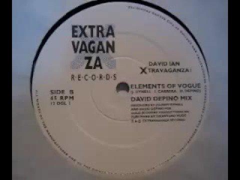 David Ian Xtravaganza - Elements of Vogue (David DePino Mix)
