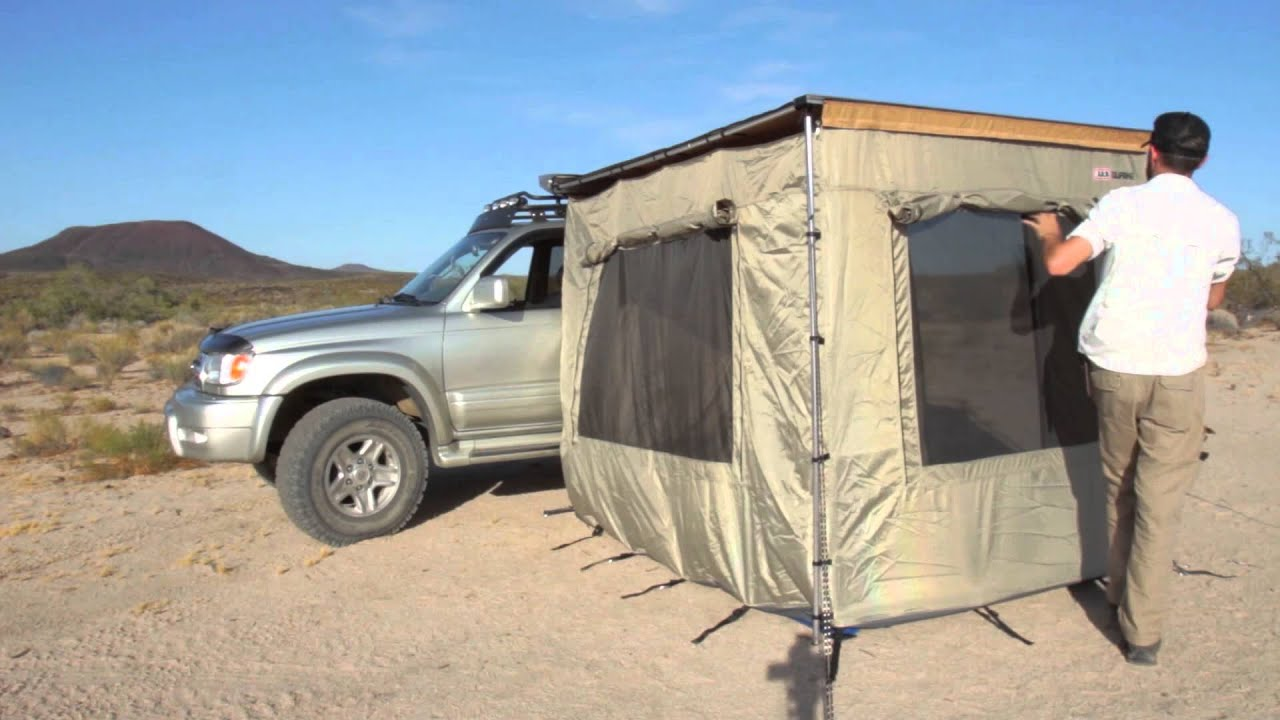 Camping Essentials Arb Awning Enclosed Room Youtube