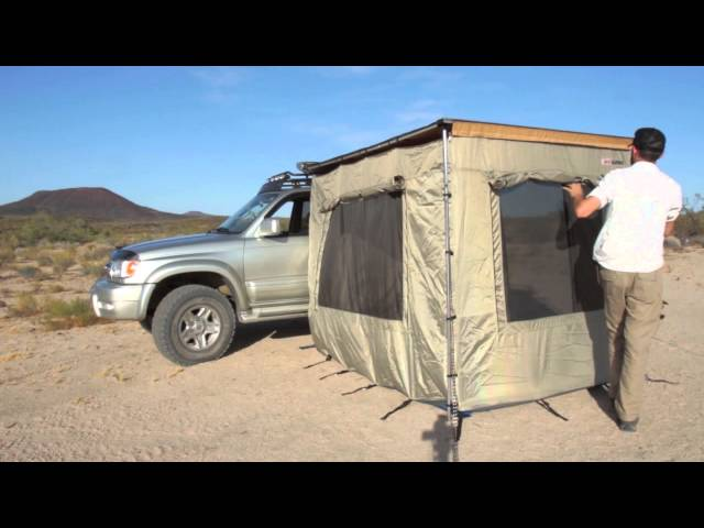 Camping Essentials: ARB Awning Enclosed Room
