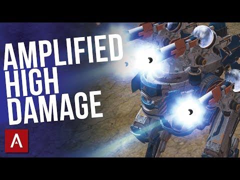 AMPLIFIED High Damage With MK2 Blitz Spark  War Robots WR
