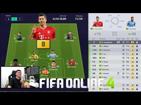 FIFA ONLINE 4: Trải Nghiệm Siêu ĐH 20A +8 & Cùng Xây Dựng Đội Hình Nếu EUROPEAN SUPER LEAGUE Xảy Ra
