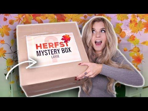 Herfst MYSTERY BOX uitpakken