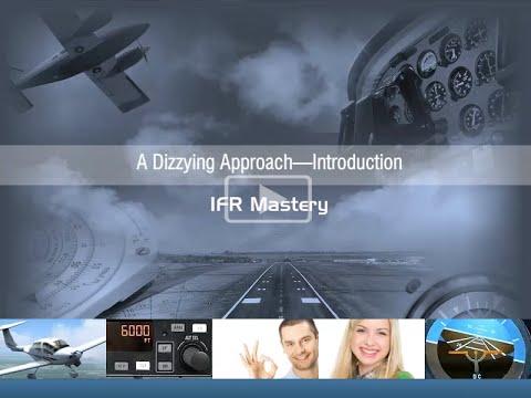 IMC Instrument Approach Scenario for IFR Pilots