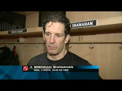 Jamie Langenbrunner, Brendan Shanahan Post Game Interview 4/3/2009