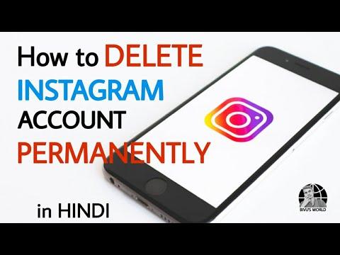 How to Delete Instagram Account Permanently    Delete Instagram Account    🤙🤙