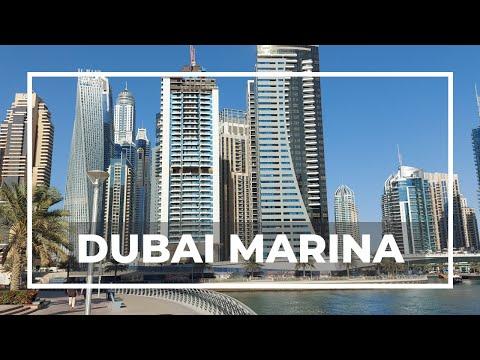 Dubai Marina Walk Tour 2021 I Chef Par Vlogs