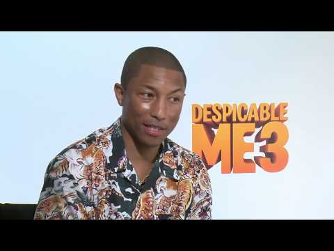 Despicable Me 3 Interview - Pharrell Williams