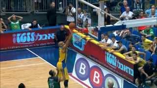 Highlights: Maccabi Electra Tel Aviv - Maccabi Haifa 82:84
