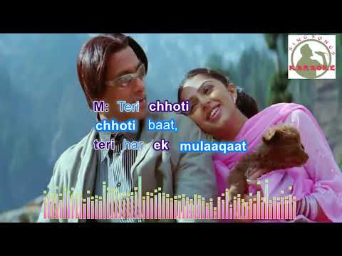 Tumse Milna Baatein Karna  Hindi  karaoke for female singers with lyrics