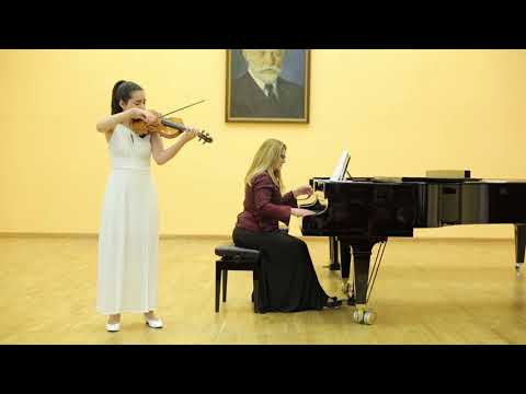 Khachaturian: Song-poem Op. 19 | Maria Matshkalyan (violin), Asya Nalbandyan (piano)
