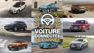 01LIVE HEBDO #160 : Qui est la grande gagnante du Prix 01net de la voiture connectée 2017 ?