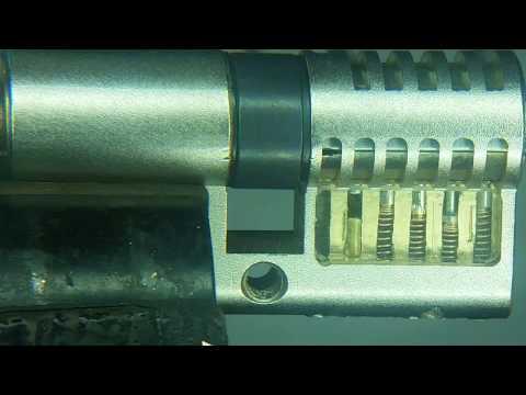 Взлом отмычками MOTTURA C34    Mottura C34 + spinner ROTOR PICK® (Mottura C34 + spinner ROTOR PICK®)