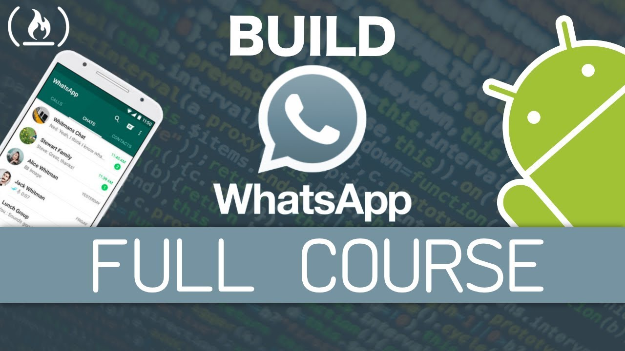 Native Android App Tutorial: WhatsApp Clone
