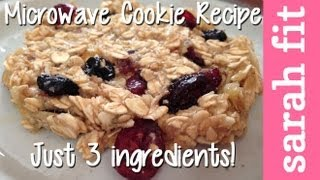 Healthy Cooking In College: Microwave Baked Trail Mix Cookies