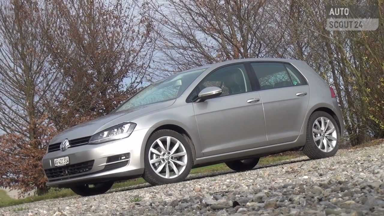 vw golf vii 2012 testbericht autoscout24 youtube. Black Bedroom Furniture Sets. Home Design Ideas