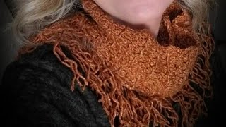 Cascading Waterfall Scarf or Infinity Scarf Pattern by YarnWars