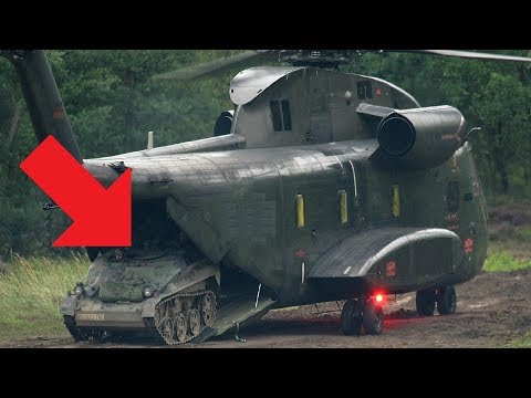 This Mini Tank Is So Small It Can Fit In To A Helicopter: Wiesel Kettenfahrzeug