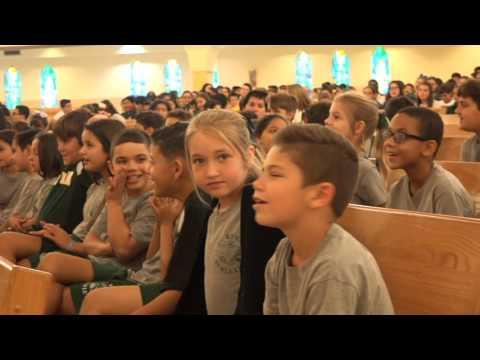 2016 MAYOR GIMENEZ VISITS ST. KEVIN SCHOOL