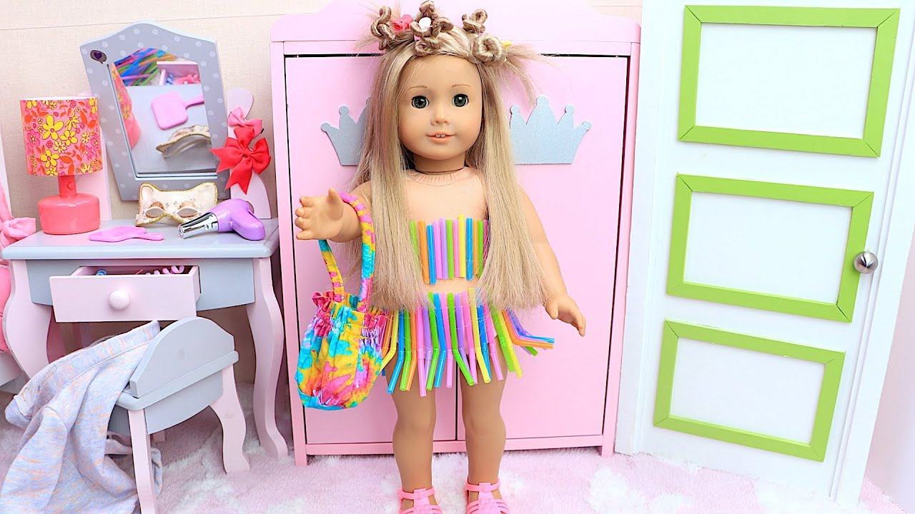 AG Doll Fun DIY Dresses and New Stories for Kids - Compilation Collection