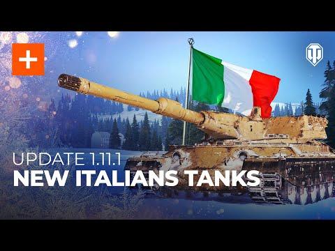 Update 1.11.1 Common Test: New Italian Tanks and Platoons 2.0