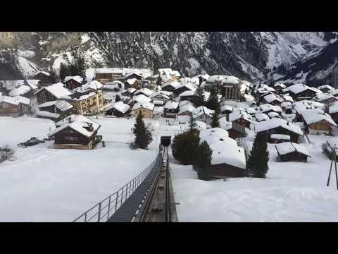 Allmendhubel to Mürren