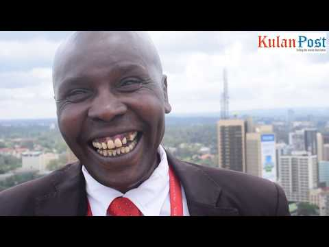 This man is probably the happiest man in Nairobi and laughter is his prescription