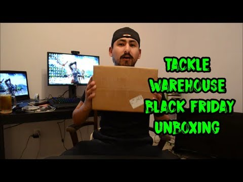 Tackle Warehouse Black Friday Unboxing