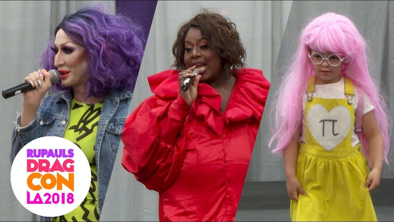 Detox & Latrice Royale's Kids Runway at RuPaul's DragCon LA: 2018