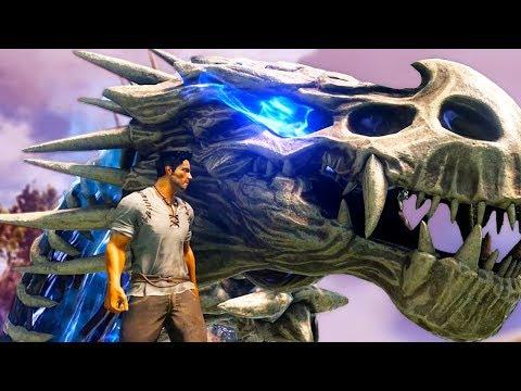 Dark and Light  NEW EPIC DRAGON HAS VISIBLE ORGANS!  Gameplay