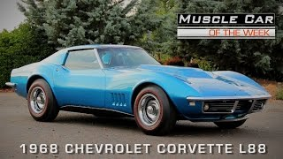 1968 Chevrolet Corvette L88 427 Coupe Muscle Car Of The Week Video Episode #117