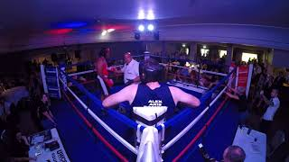 Ultra White Collar Boxing | Gloucester | Matthew Taylor VS Alex Roberts