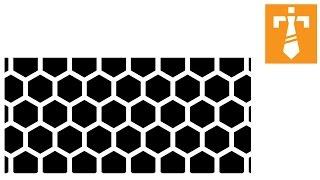 Illustrator Tutorials Make a hexagon patterns