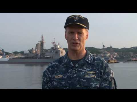 US Navy releases video of destroyer involved in Japan collision