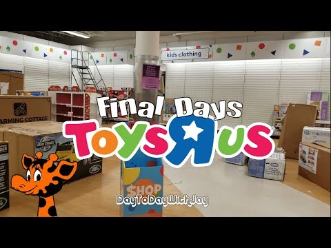 Toys R Us - The Final Days! End Of An Era!