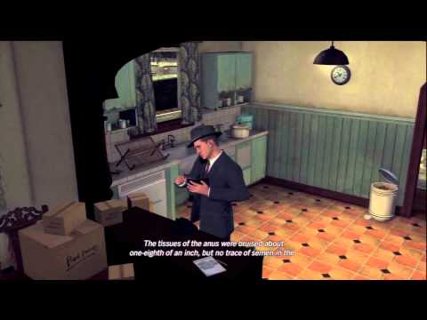 LA Noire Walkthrough: Case 8 - Part 3 [HD] (XBOX 360/PS3) [Gameplay]